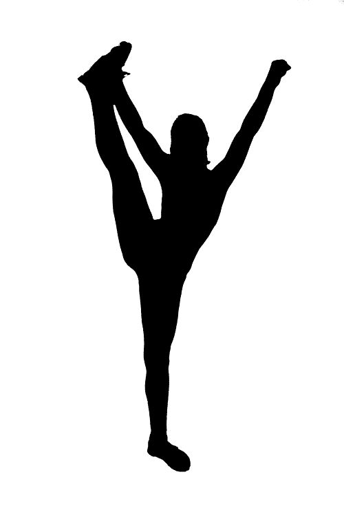 Cheerleading Stunt Silhouette | Go Back -Cheerleading Stunt Silhouette | Go Back u003e Gallery For u003e Cheer Stunt  Silhouette-13