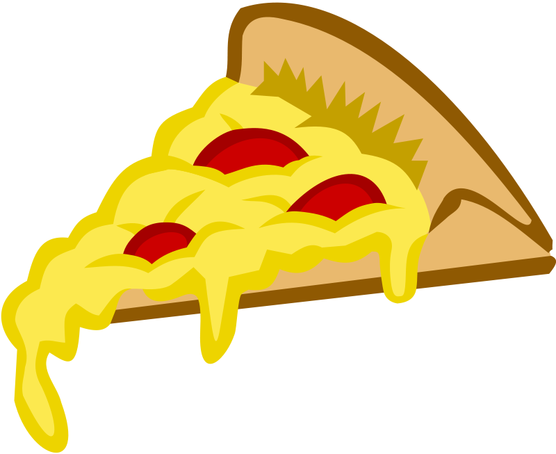 Cheese Pizza Slice Clip Art-cheese pizza slice clip art-1