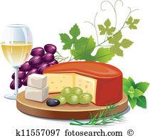 Cheese And White Wine-Cheese and white wine-1