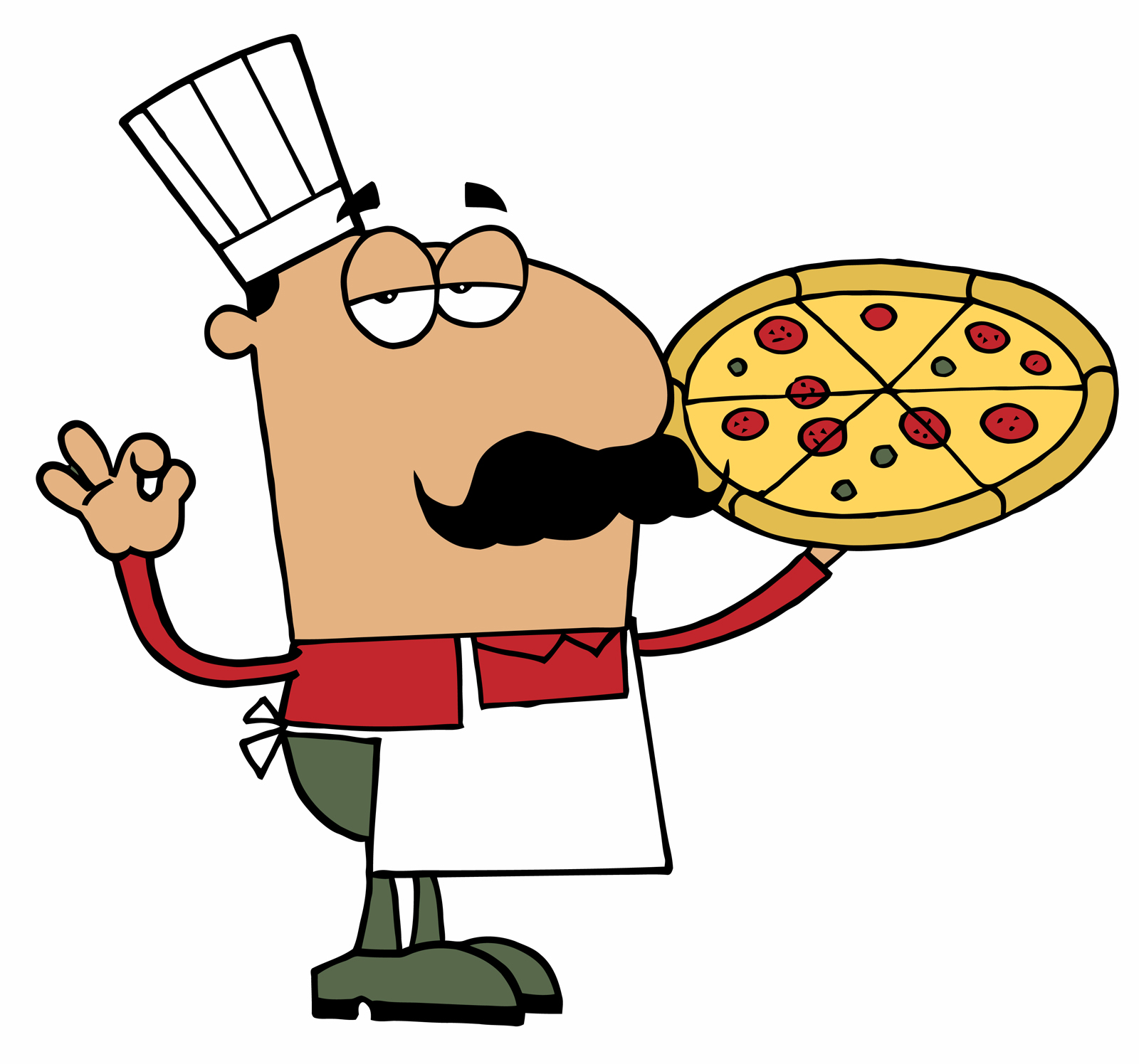 Cheese Pizza Clipart - Clipart library