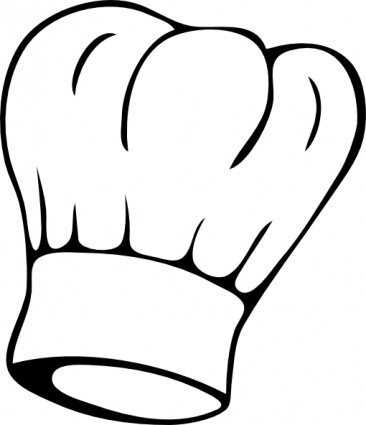 Chef Hat Clipart Black And White-chef hat clipart black and white-3