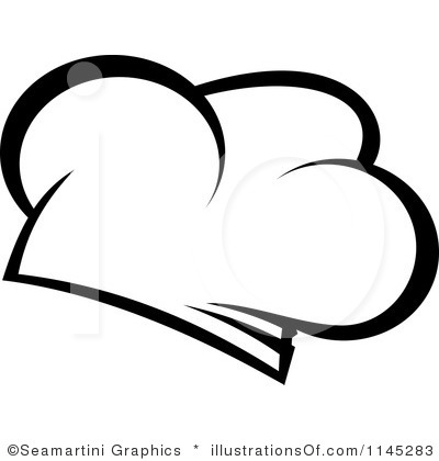 Chef Hat Clipart Black And White-chef hat clipart black and white-4