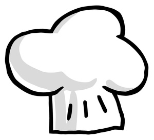 Chef Hat Clipart Black And White-chef hat clipart black and white-1