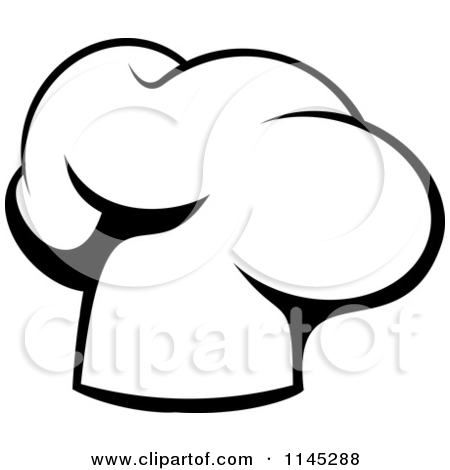 Chef Hat Clipart Black And White-chef hat clipart black and white-5