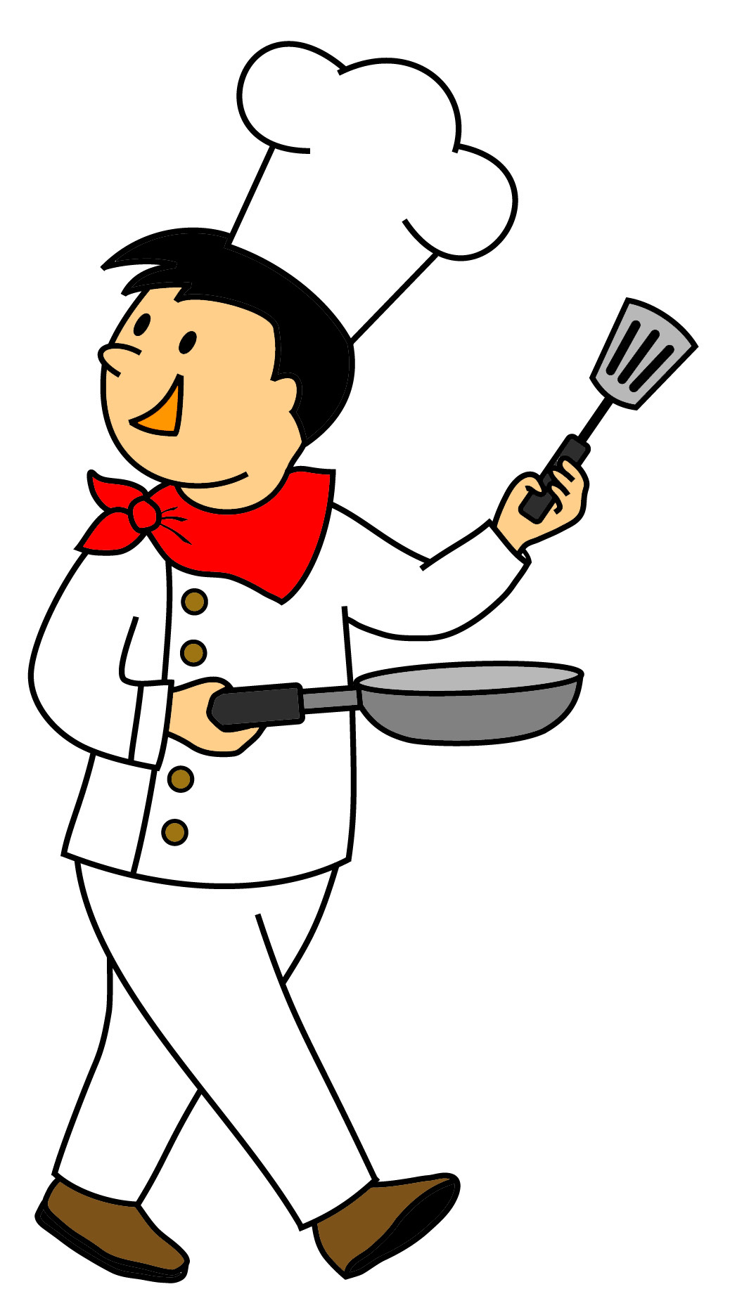 Chef clip art clipart free . - Chef Clipart Free