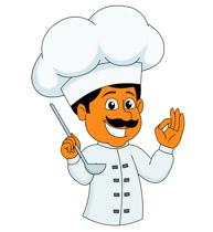 Chef Cooking And Tasting Food With Happy-Chef Cooking And Tasting Food With Happy Face Clipart Size: 84 Kb-1