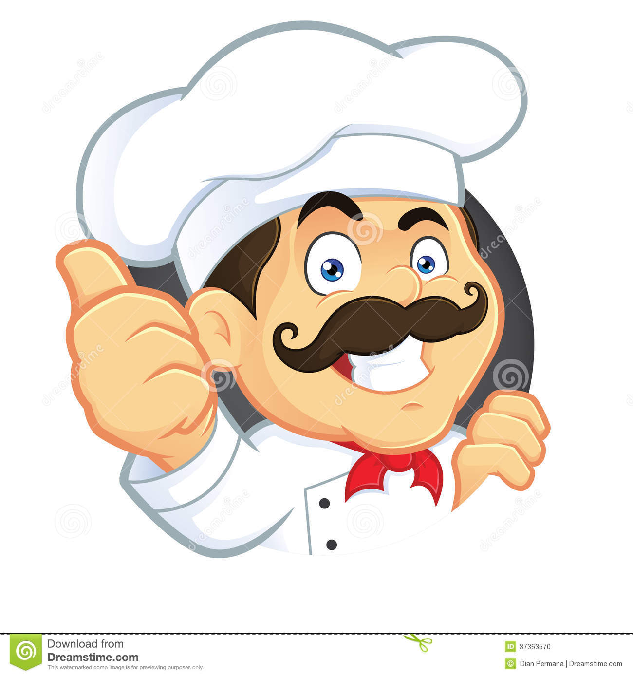 Chef Giving Thumbs Up Stock Photo-Chef Giving Thumbs Up Stock Photo-4