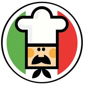 Chef In Front Of The Flag Of Italy Clipa-Chef In Front Of The Flag Of Italy Clipart Image By Chud Tsankov-4