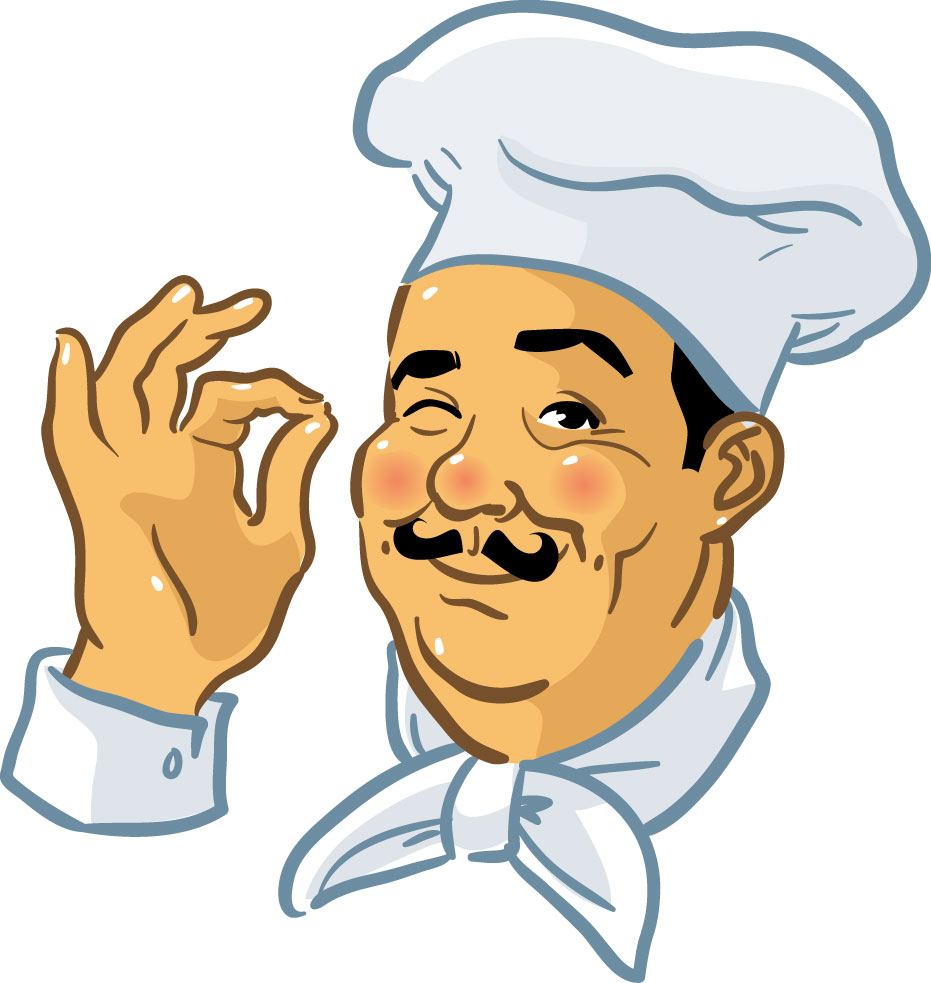 Chefs And Food Clip Art Free .-Chefs And Food Clip Art Free .-5