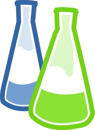 Chemical Lab Flasks Clip Art Vector Clip-Chemical Lab Flasks clip art Vector clip art - Free vector for-2