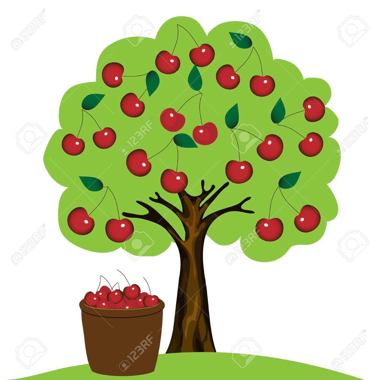 Cherry Tree Clip Art-Cherry Tree Clip Art-3