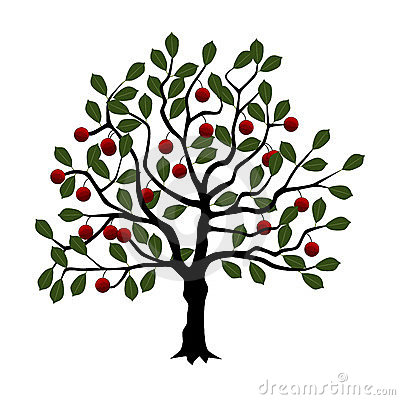 Cherry Tree Clip Art-Cherry Tree Clip Art-5