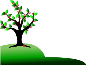 ... Cherry Tree Clip Art U2013 Clipart F-... Cherry Tree Clip Art u2013 Clipart Free Download ...-9