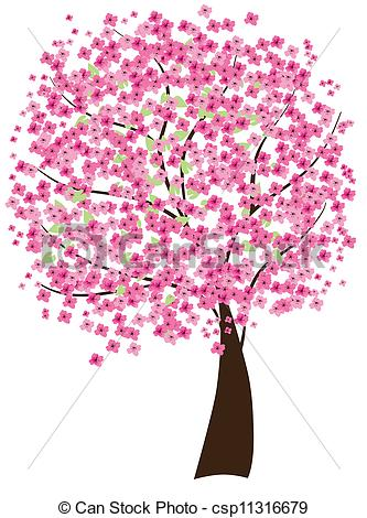 ... Cherry Tree - Vector Cherry Tree-... cherry tree - vector cherry tree-12