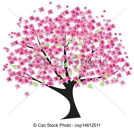 ... cherry tree - vector cherry tree cherry tree Clipartby ...