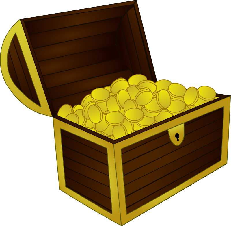 chest clipart. Treasure Chest2