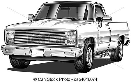 82 Pickup Mild Custom - csp4646074