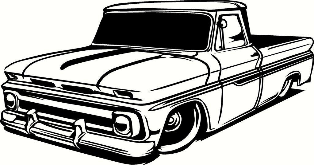 Chevrolet Truck Clipart - Alleghany Trees