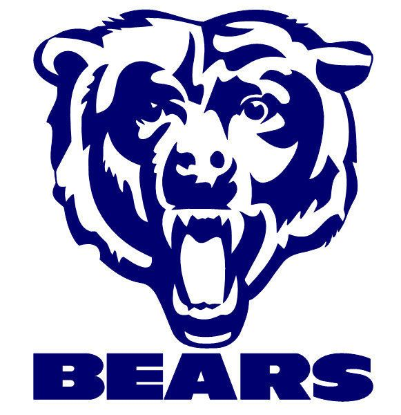 Chicago bears coloring. Clipart look at clip