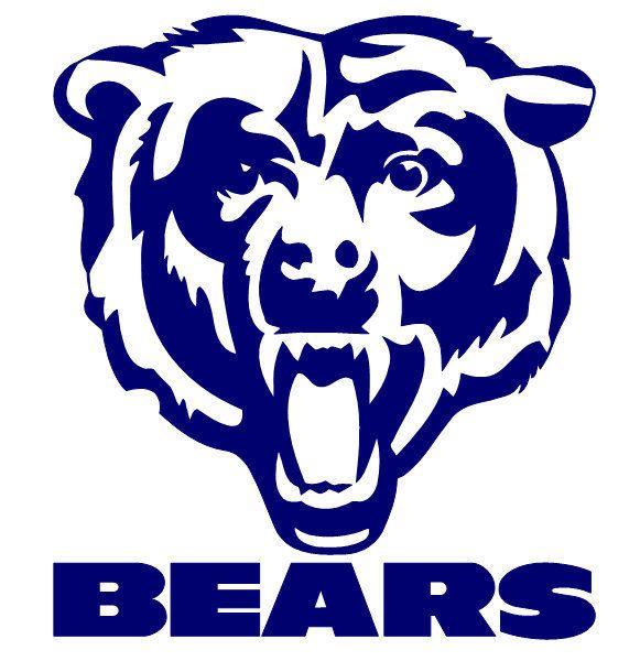Chicago Bears Logo Stencil-chicago bears logo stencil-11