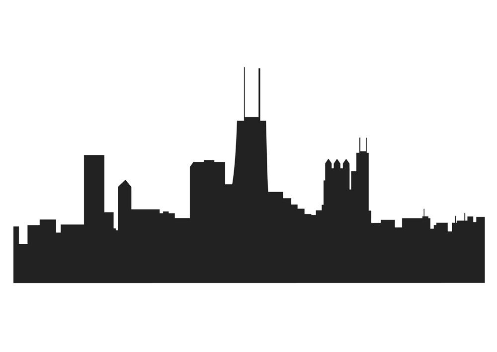 Chicago Skyline Clipart
