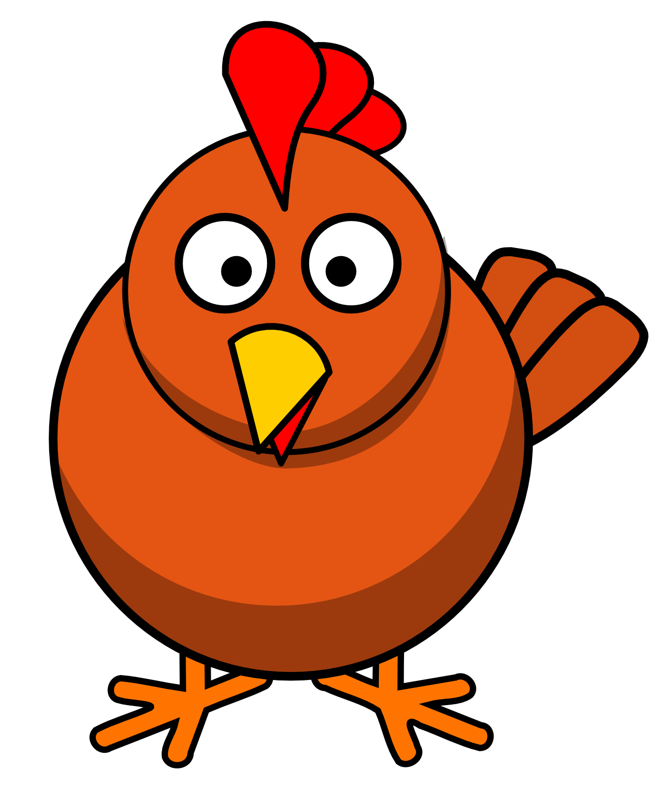 Chicken Clip Art - Chicken Clip Art