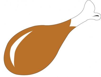 chicken leg clipart - Chicken Wing Clip Art
