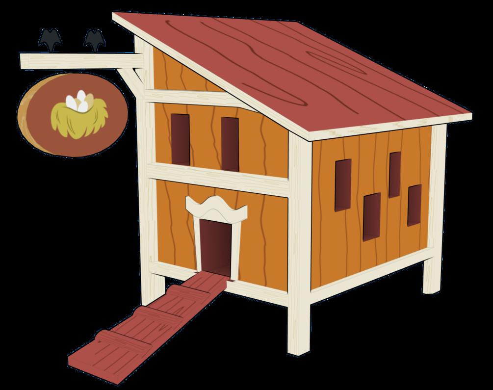 Chicken Coop 3d Model By .-Chicken Coop 3d Model By .-2