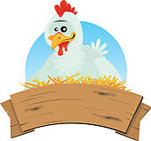 ... Chicken Nest And Wood Banner-... Chicken Nest And Wood Banner-12