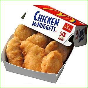 Chicken Nuggets Clip Art