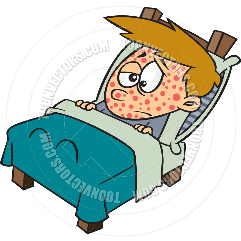 Chicken Pox Fever Clipart #1