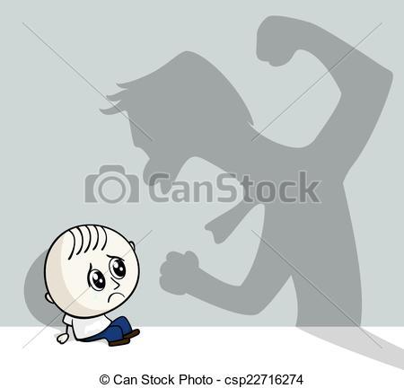 ... Child Abuse - Illustration Of Child -... child abuse - illustration of child abuse with little child... ...-7