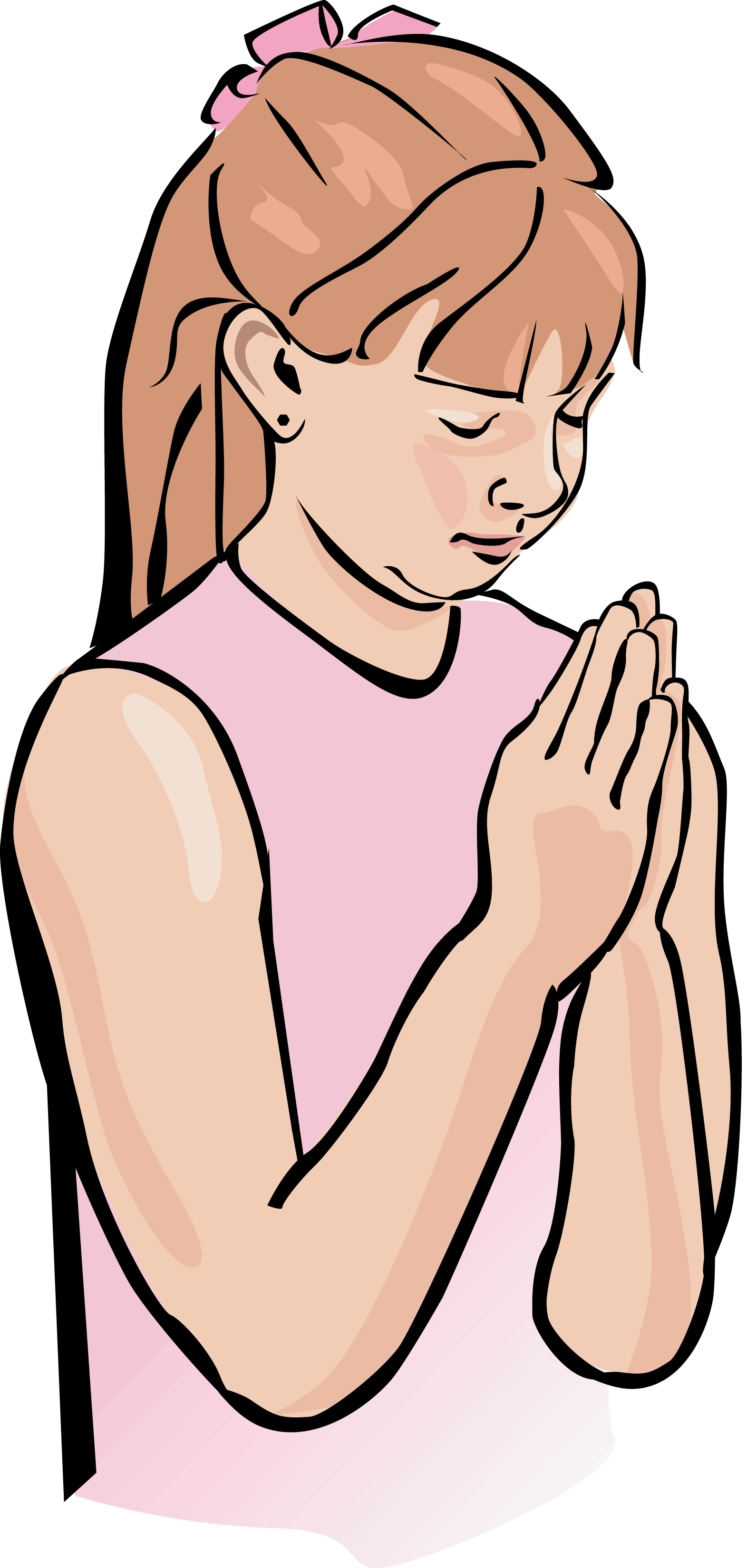 Child prayer clipart free clipart images 2