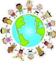 children around the world clipart