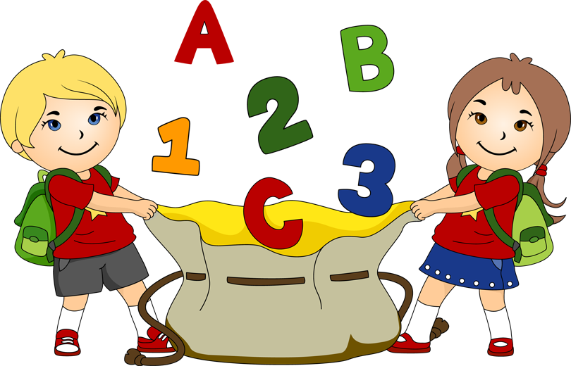 Children And School Clipart