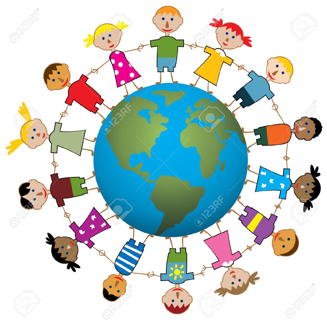 children around the world .-children around the world .-16