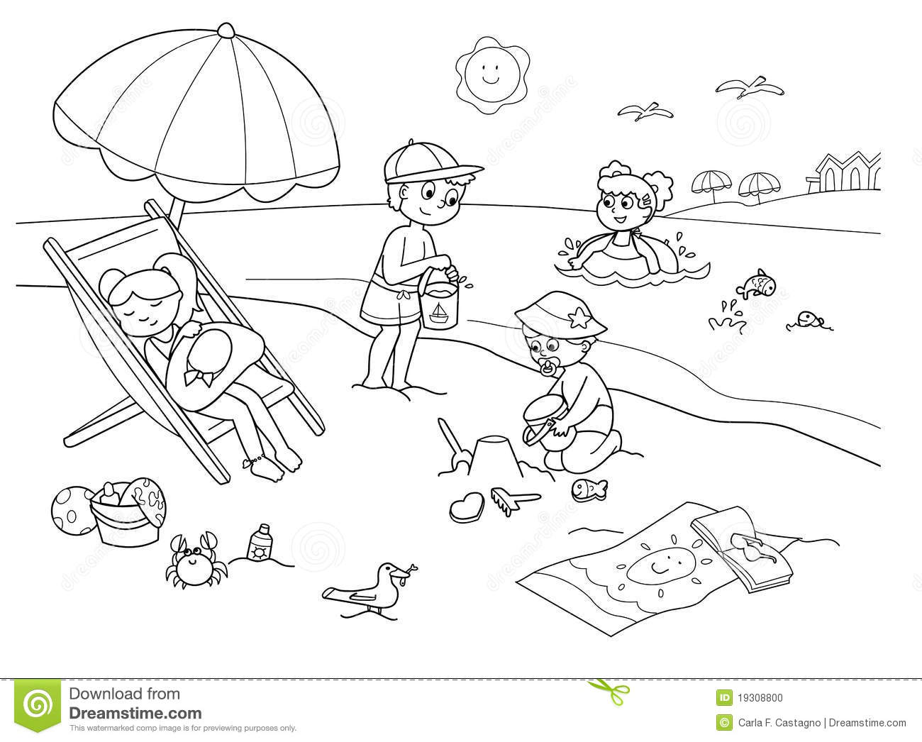 Children At The Beach-Children at the beach-8