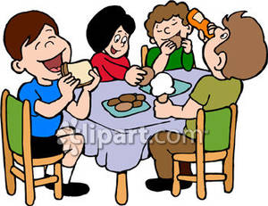Children Eating Lunch Clipart. Eating Lu-Children Eating Lunch Clipart. Eating Lunch At School Clip .-10