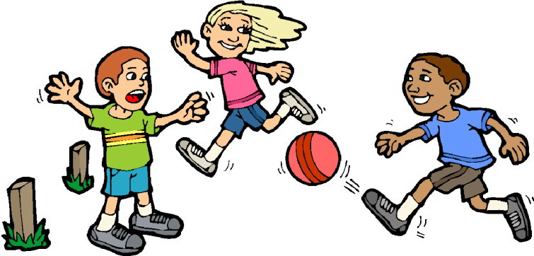 Children Play Clipart
