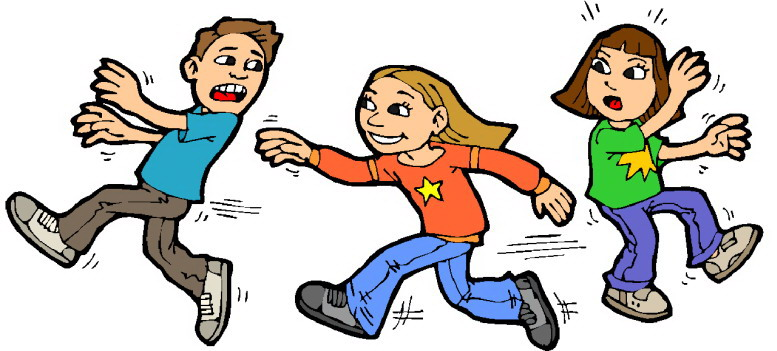 Children playing clipart 8