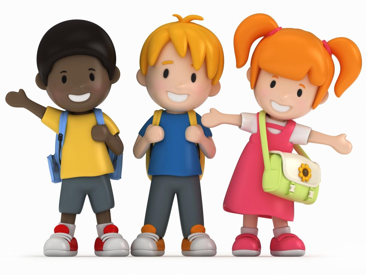 Children school bus clip art for kids free clipart images