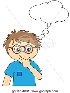 Children Thinking Clipart Children Thinking Clipart