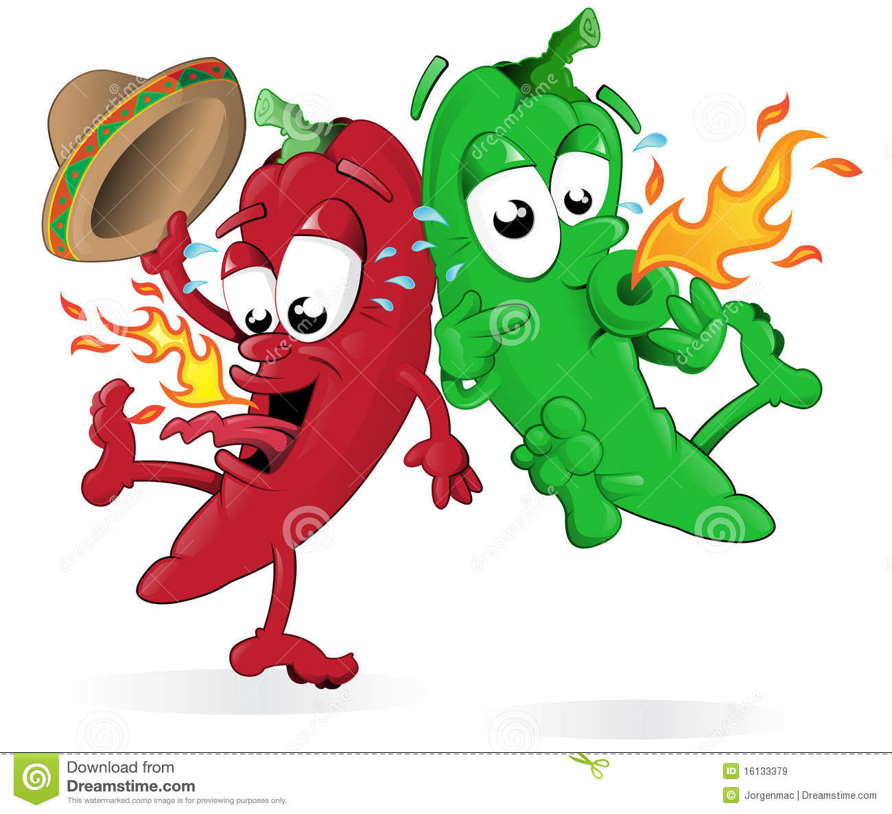 Chili clip art clipart. Red Hot Jumping Chili Peppers .