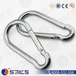 China Factory DIN5299c Carbon Steel Common Mountain Climbing Hook