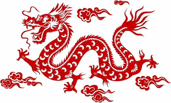 Chinese Dragon Free Clipart-Chinese Dragon Free Clipart-4