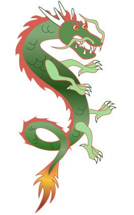 Chinese Dragon - Vertcal-Chinese Dragon - Vertcal-7