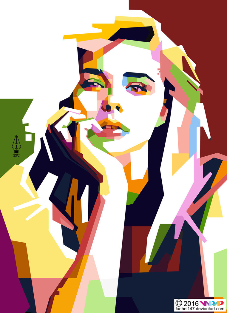 Chloe Grace Moretz In WPAP By Fadhel147 -Chloe Grace Moretz in WPAP by Fadhel147 ClipartLook.com -3