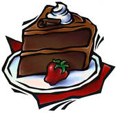 chocolate cake clipart - Chocolate Cake Clipart