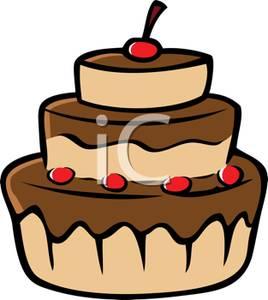 Chocolate Cake Clipart-chocolate cake clipart-3