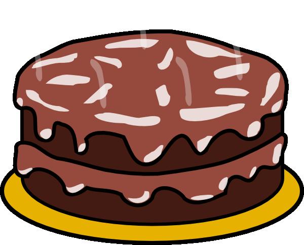 chocolate cake clipart - Chocolate Cake Clipart
